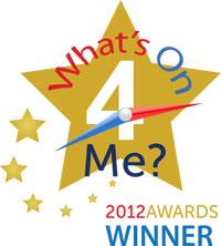 Winner 'Most Inspirational Trainer/Tutor/Instructor Award 2012