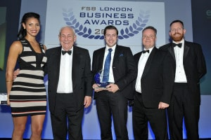 Winners! Best Business in London 2015