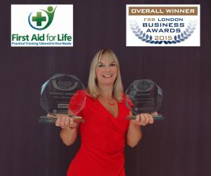 Overall Winner Best Business in London 2015