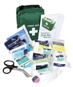 Family First Aid kit in soft bag - First Aid for Life