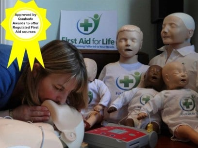 From tomorrow there is no such thing as an HSE Approved First Aid Training Provider