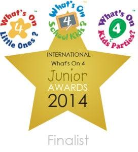 whats on 4 international award finalist