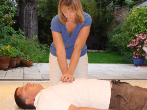 adult chest compressions