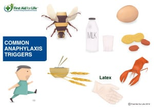 Triggers for anaphylaxis