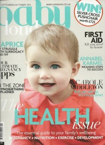 Baby London - Sept Oct 2015cover