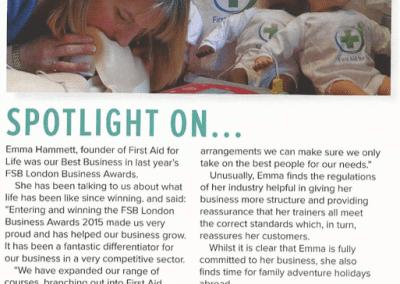 FSB London – Best Business Award