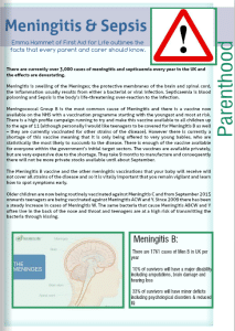 NCT Meningitis & Sepsis