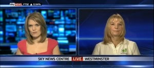 SKY News Live Interview