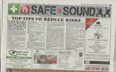 South London Press – Top Tips to Reduce Risks