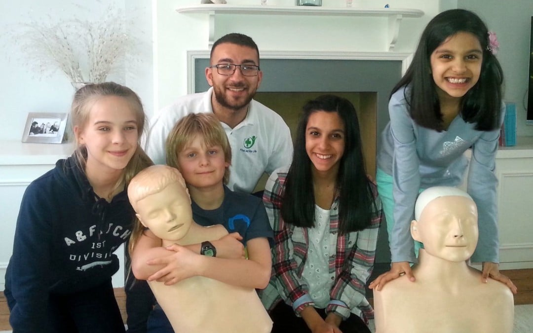 You are never too young to learn First Aid