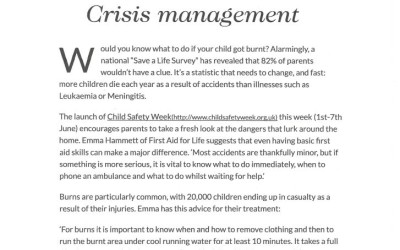Smallish – Crisis Management