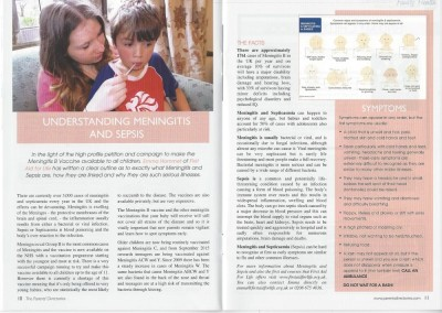 The Parents Directory – Meningitis and Sepsis