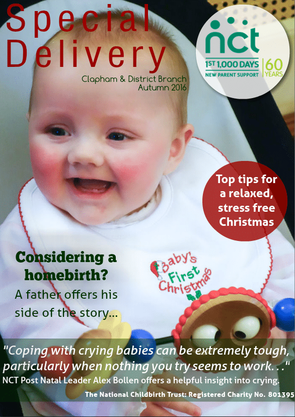 NCT Special Delivery Magazine Autumn 2016 - First Aid for Life