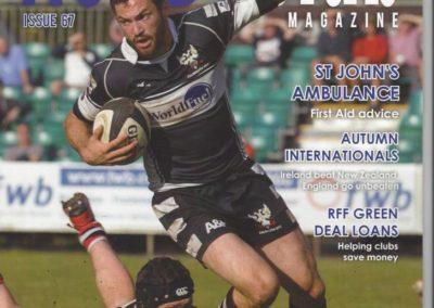 Rugby Club Magazine – Head Injury Advice