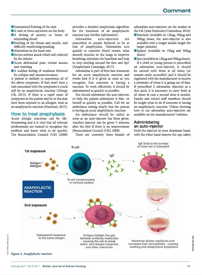 BJSN Acute Anaphylaxis 3