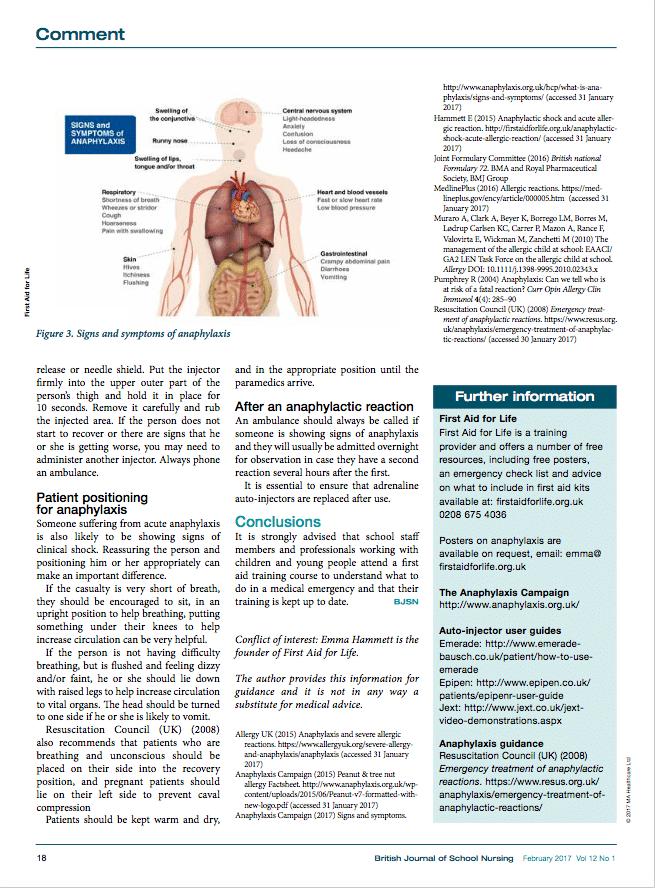BJSN Acute Anaphylaxis 4