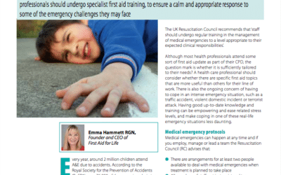 Journal of Family Health – First Aid Training