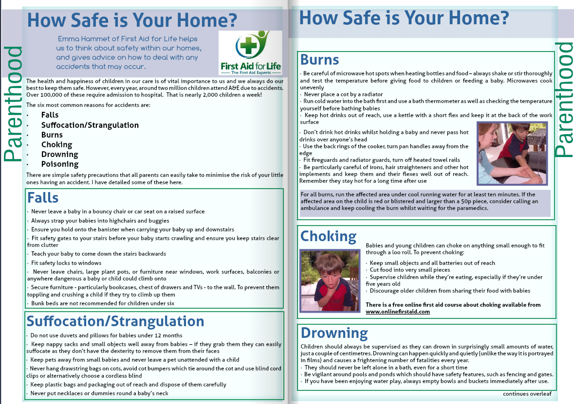 NCT Magazine - How Safe is Your Home?