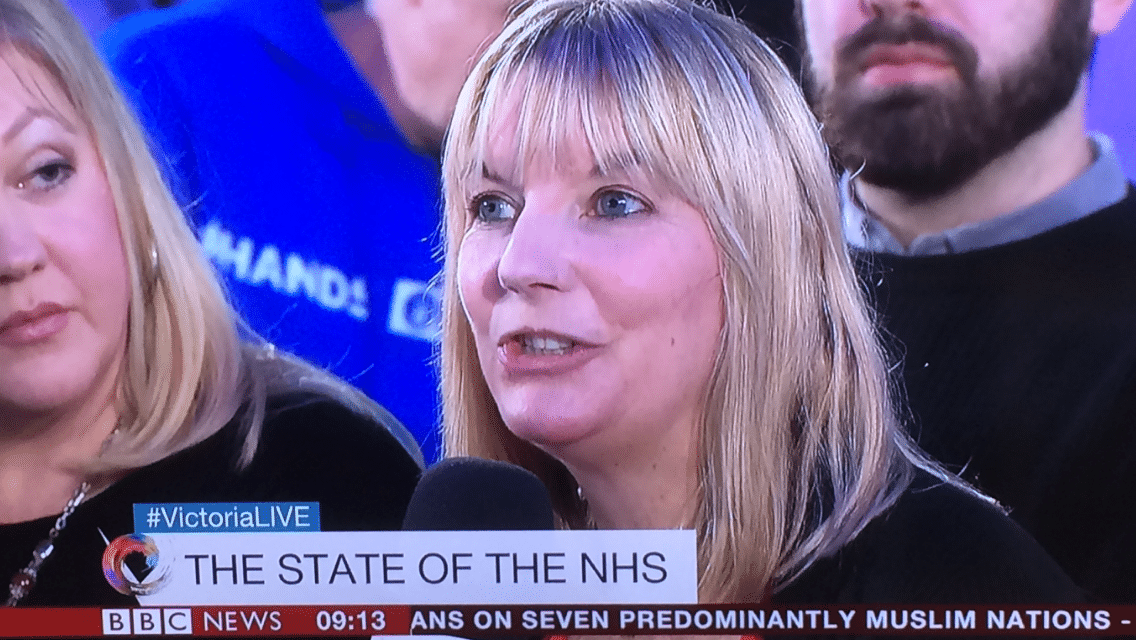 Victoria Derbyshire NHS Debate