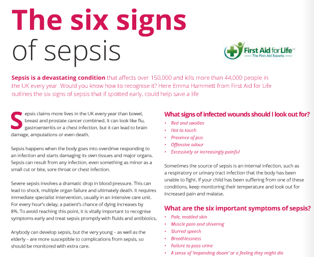 copy Early Years Sepsis