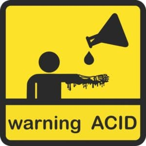 Acid Attacks - new first aid advice on treatment for corrosive burns