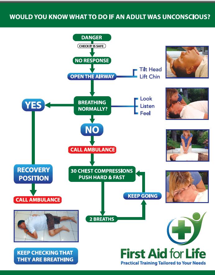Cpr Aed Flow Diagram Illustration Of Wiring Diagram