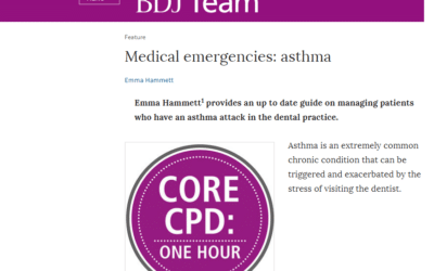 British Dental Journal – Dealing With Asthma