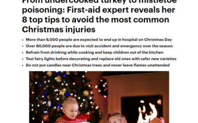 Daily Mail – 8 Top Tips to Avoid Christmas Accidents