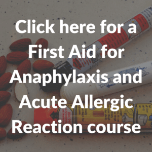 Anaphylaxis fa course