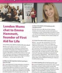 London Mums – Answering Parents' Questions
