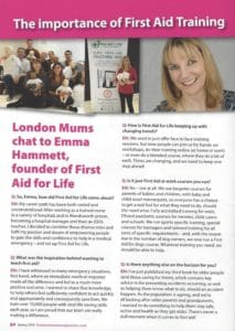London Mums Q&A with Emma