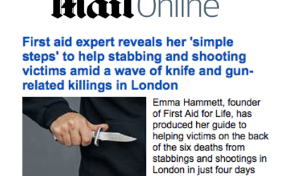 Mail Online – Helping Shooting & Stabbing Victims