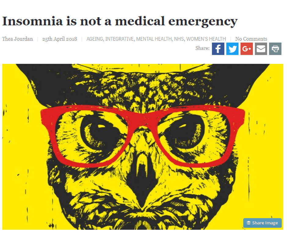 The Hippocratic Post – Insomnia & A&E