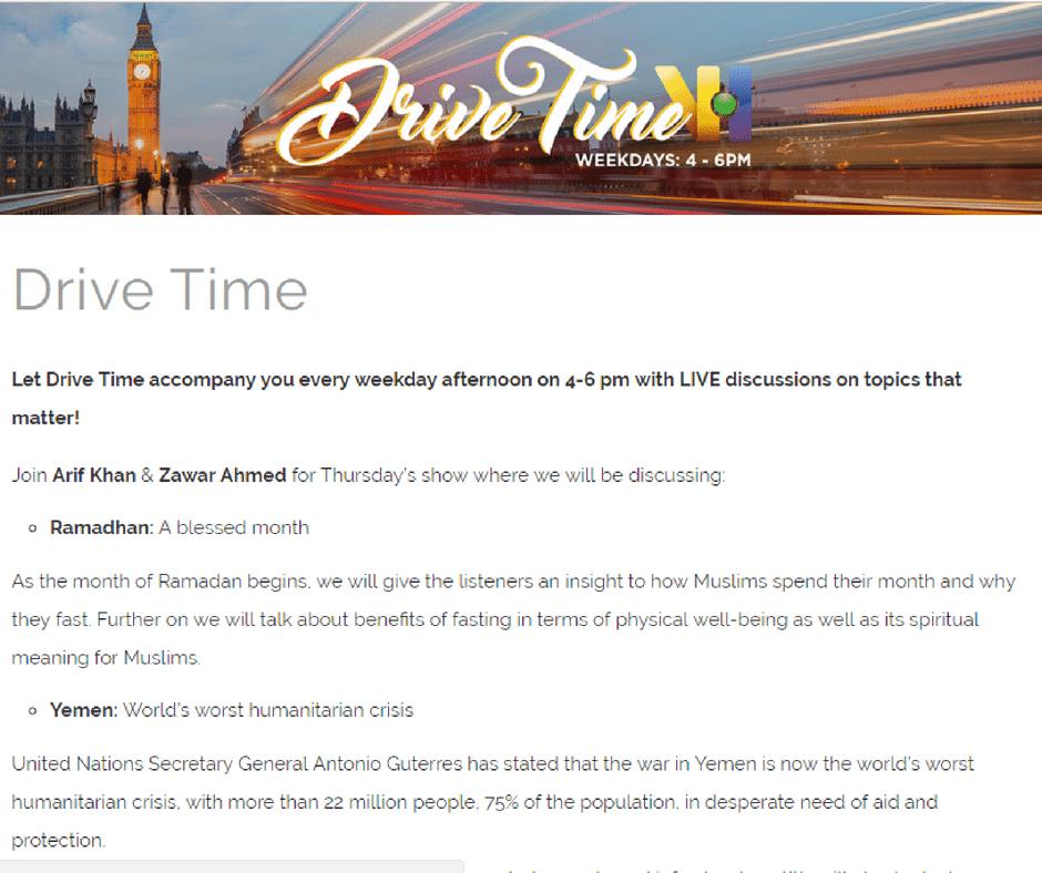TalkRadio: Drive Time Show – Expert Advice