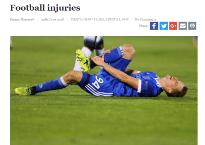 The Hippocratic Post – football injuries, how to stay safe on the pitch