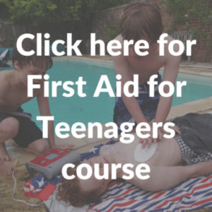 first aid for teenagers
