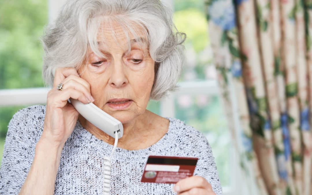 Being scammed and the elderly – how to avoid becoming a statistic