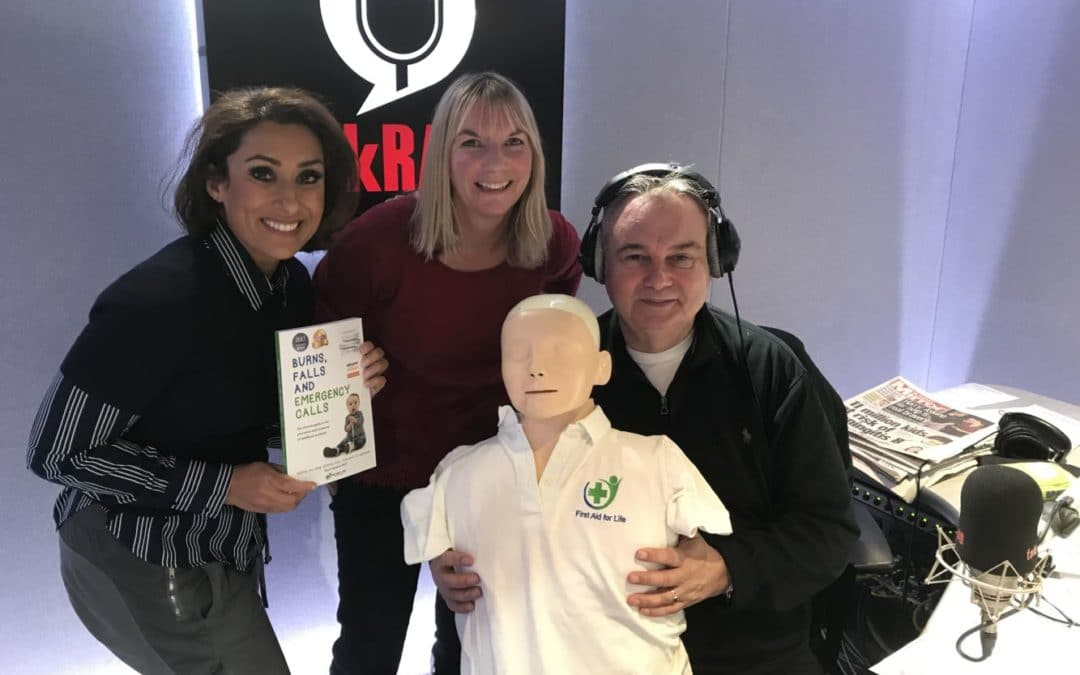 TalkRadio: Eamonn Holmes – First Aid Advice