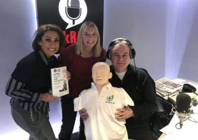 Emma on talkRADIO with Eamonn Holmes OBE and Saira Khan.