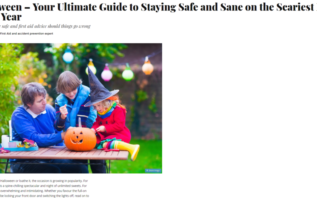Thrive Global – Halloween Safety Guide
