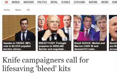 Could lifesaving bleed kits be one answer to reducing knife crime fatalities?