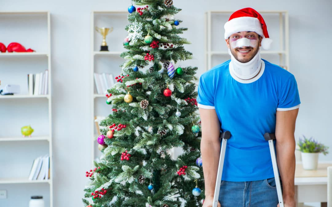 The Twelve Mishaps of Christmas, how to avoid common festive accidents