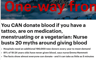 Daily Mail – Blood Donation Myths