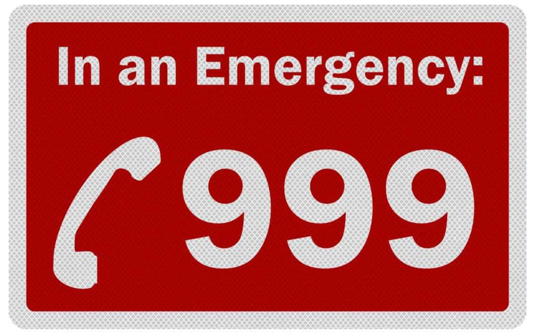 What happens when you dial 999 from making the call to when help arrives