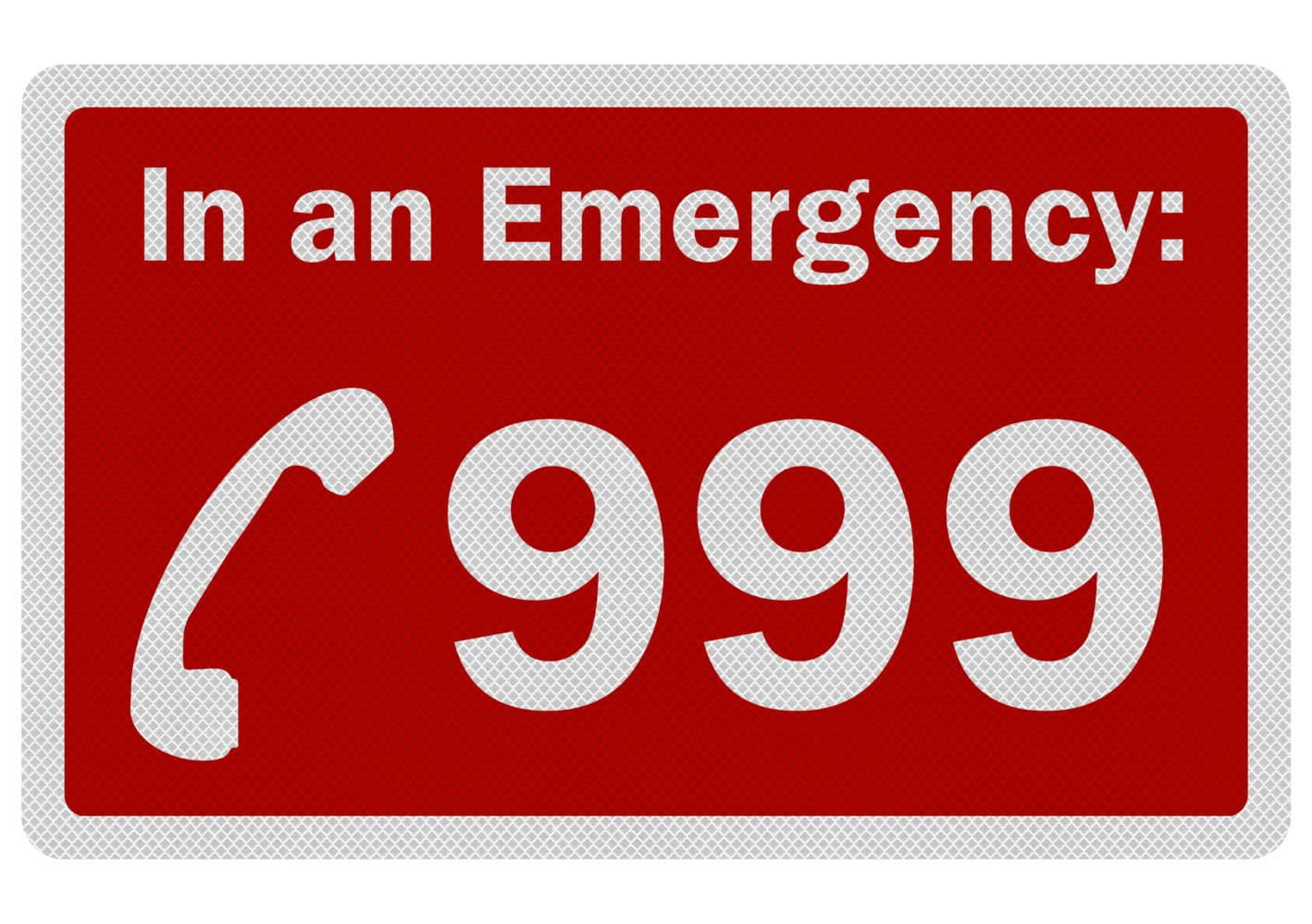 Image result for in an emergency 999