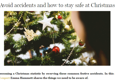 BritMums – Safety at Christmas