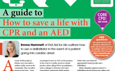 British Dental Journal – How to Save a Life With CPR & AEDs