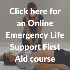 emergency life support first aid course