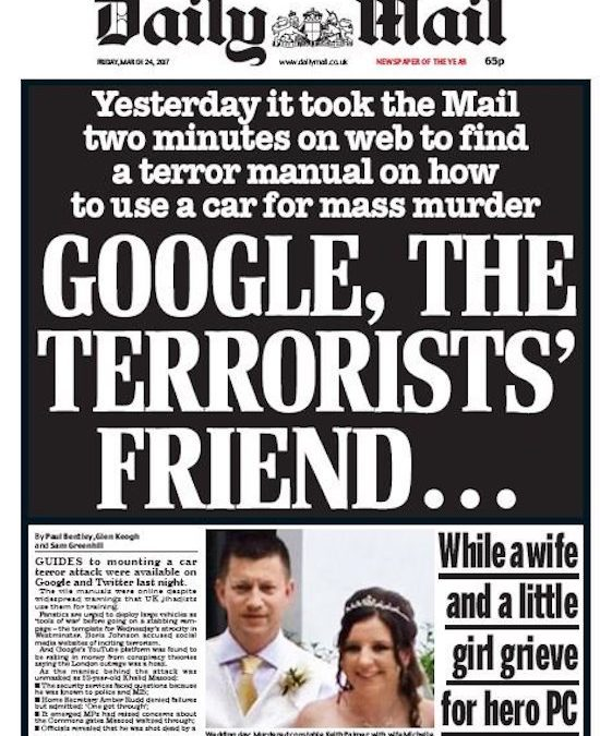 Daily Mail – How to Save Lives in Event of a Terror Attack