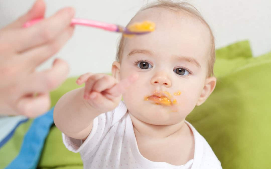 baby weaning choking risk